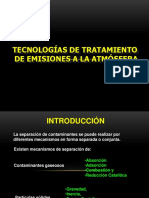U02 Tecnologías de Tratamiento de Emisiones a La Atmósfera_18 I