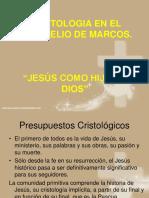 Cristología en El Evangelio de Marcos
