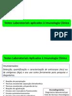 AULA 3 - Testes Laboratoriais Aplicados à Imunologia Clínica 2018- IMUNOPRECIPITAÇÃO