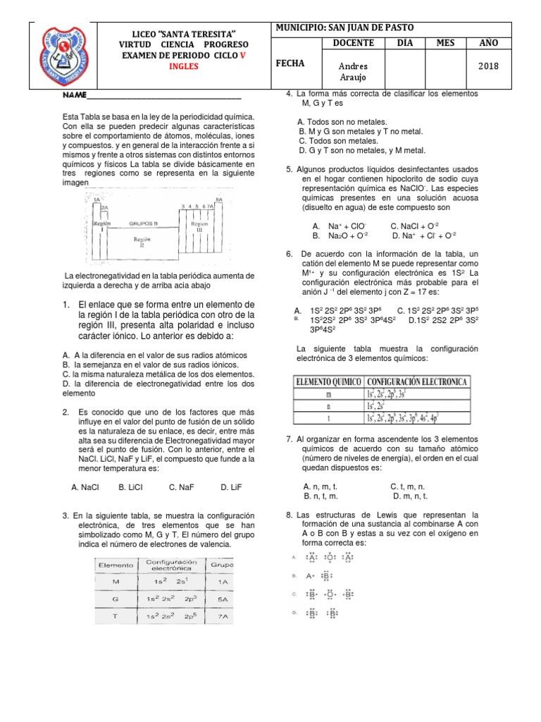 Examen Final 1 P Ciclo V 2018 Docx Configuración