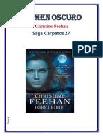 27 Christine Feehan Saga Oscura - Crimen Oscuro