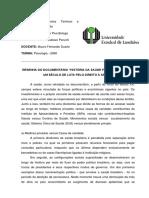 Resenha Crítica Do Documentário - História Da Saúde Pública No Brasil Um Século de Luta Pelo Direito à Saúde