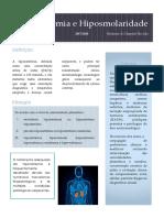Hiponatremia e Hiposmolaridade