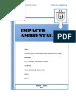 Control de Los Contaminantes Químicos en El Perú