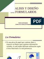 Analisis y Diseño de Formularios