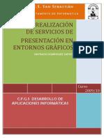 Diseño y Realizacion de Servicios de Presentacion en Entornos Graficos