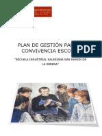 Plan Gestion Convivencia Escolar.