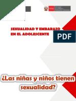 Ppt_3 _sexualidad Como Integralidad -Embarazo en Adolescente