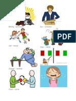 Verbos en Ingles y Español