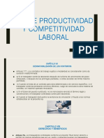 Ley de Productividad y Competitividad Laboral