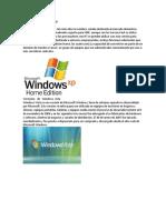 Versiones   de   Windows  xp.docx
