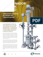 Wellhead Desander Brochure Spanish