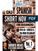 Easy Spanish Short Novels for Beginners, Vol. 5