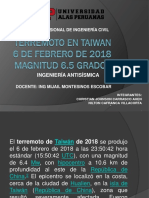 Terremoto en Taiwan