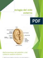 Patología Del Oído Externo