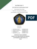 Materi Bab 12 Penyusunan Anggaran Kas
