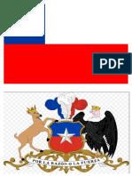 Bandera y Escudo de Chile