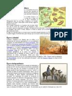 Elaboración de La Agricultura