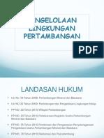 2. Peraturan Lingkungan_Tambang