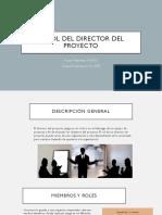 El Rol del Director del Proyecto