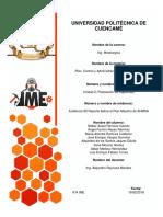 Eviencia #2 Reporte Del Programa Maestro de La Produccion de AHMSA