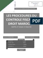 Le Controle Fiscal Au Maroc[1]