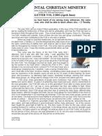 FCM Newsletter 2003_V1 (Jan-Mar 03)
