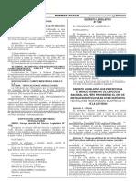 Decreto Legislativo Que Perfecciona El Marco Normativo de La Decreto Legislativo 1340