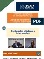 Sentencias Atipicas Constitucional Internacional Doctorado