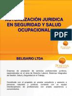actualización Jurídica en seguridad y salud ocupacional