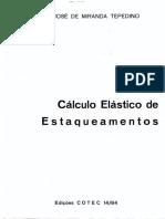 Tepedino -Cálculo Elástico de Estaqueamentos