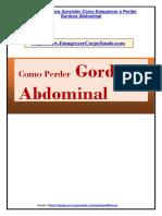 Emagrecimento Como Perder Gordura Abdominal