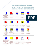 International Signals Used by Ships at Sea