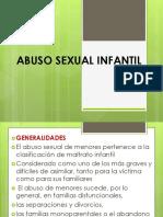 Niñez Abuso Sexual