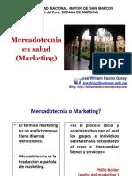 3. Marketing en Salud . Dr. Castro