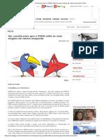 PSDB e PT (Centro-esquerda)