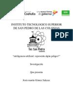 Ineteligencia Artificial - Jesus Martin Gomez Salazar