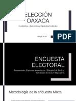 Preferencias Electorales - Oaxaca 2018