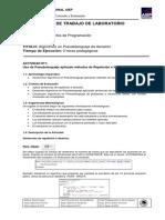 Guía 07 de Taller - Fundamentos de Programación