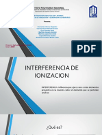 Generador de Hidruros - Interferencia de ionización