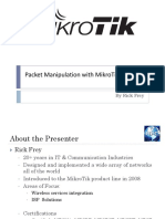 Manipulating Packets With MikroTik