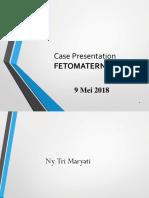 Case Tri Wilawati Dengan Kista Ovarium