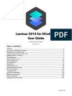 Luminar 2018 User Manual PC