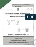 Resumen Equipo 3 Polímeros de Adición U-1
