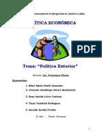 2. Trabajo de Política Exterior 030214