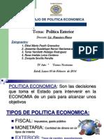 1. Exposición de Política Exterior 030214