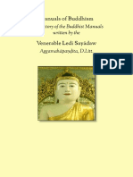 Manuals of Buddhism