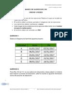 Banco de Ejercicios Unidad 6