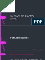Perturbaciones- ModelosSistemas