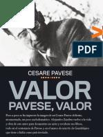 Alejandro Zambra - Valor, Pavese, Valor